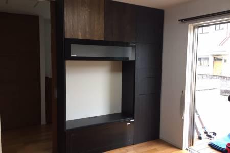 システム家具の施工