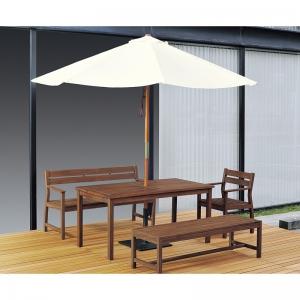 チークテーブル マデーラ HE-1680T