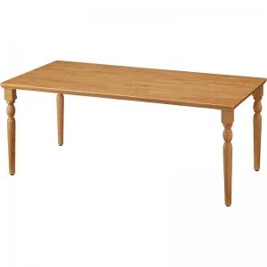 天然木テーブル R縁タイプ UFT-RCT
