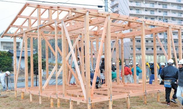 応急仮設木造住宅