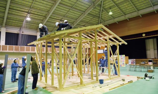 未来の建築業界を担う高校生