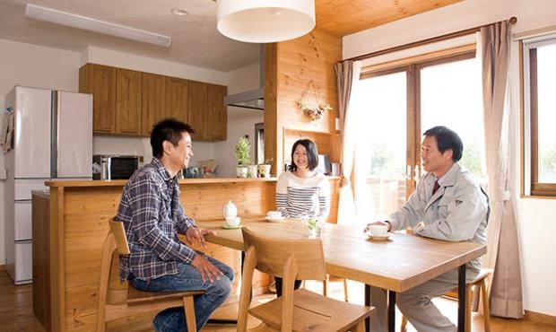 木づくりの家は、住む人にも環…
