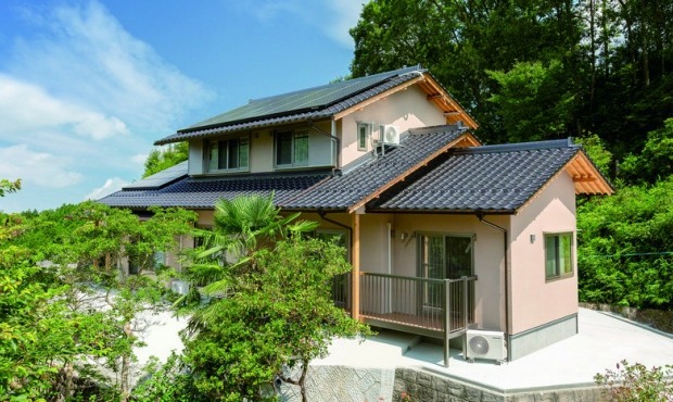 石州瓦がつくる日本の美しい風…