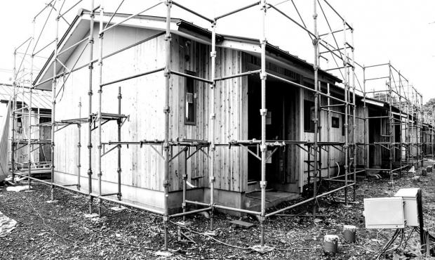 災害時における木造応急仮設住宅