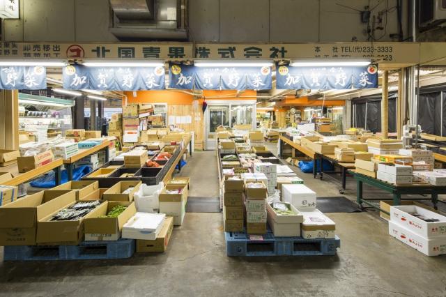 卸売 金沢 市場 中央