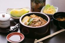 穴子丼定食