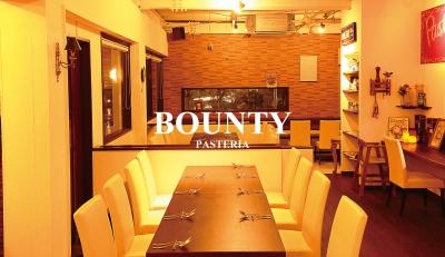 Pasteria Bountyショップ情報