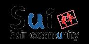 Sui hair communityロゴ画像