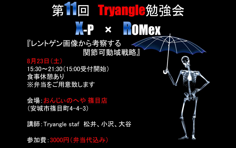 第11回Tryangle勉強会のご案内